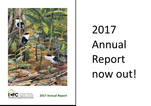 2017 Annual Report just out!