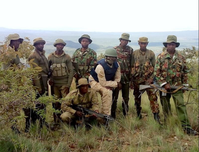 The professional team of rangers has been instrumental in reducing poaching and illegal grazing