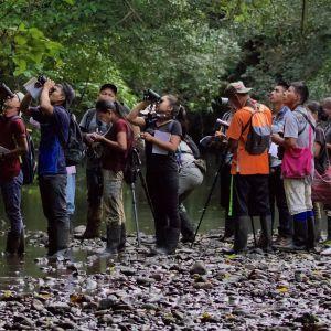 Birding at Rio Hondo (photo: Scott Hecker)