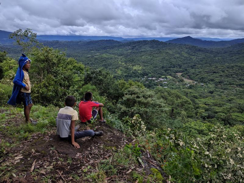 The view at Rio Plantares (photo: Scott Hecker)