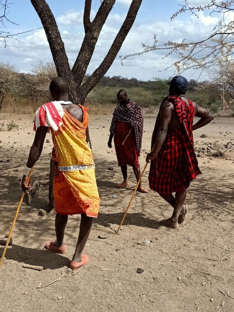 Maasai meeting