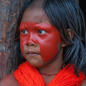 Kayapo child by cristina mittermeier