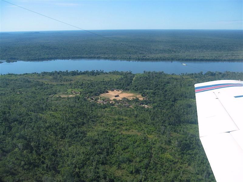 Kayapo village from air