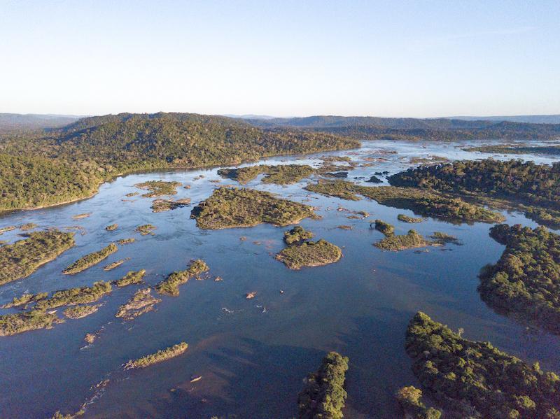 Xingu river by john meisner