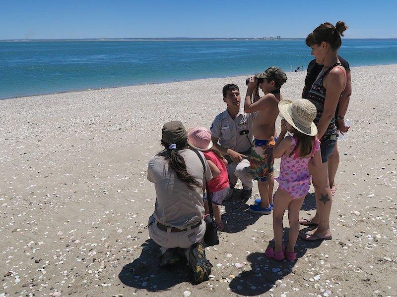 Rangers on the beach (photo: Scott Hecker)