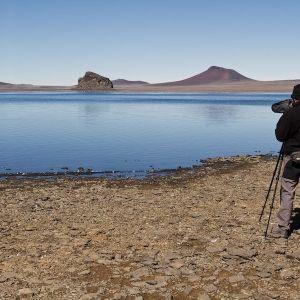 Kini Roesler enjoying a rare calm day (photo: Diego Punta Fernandez)