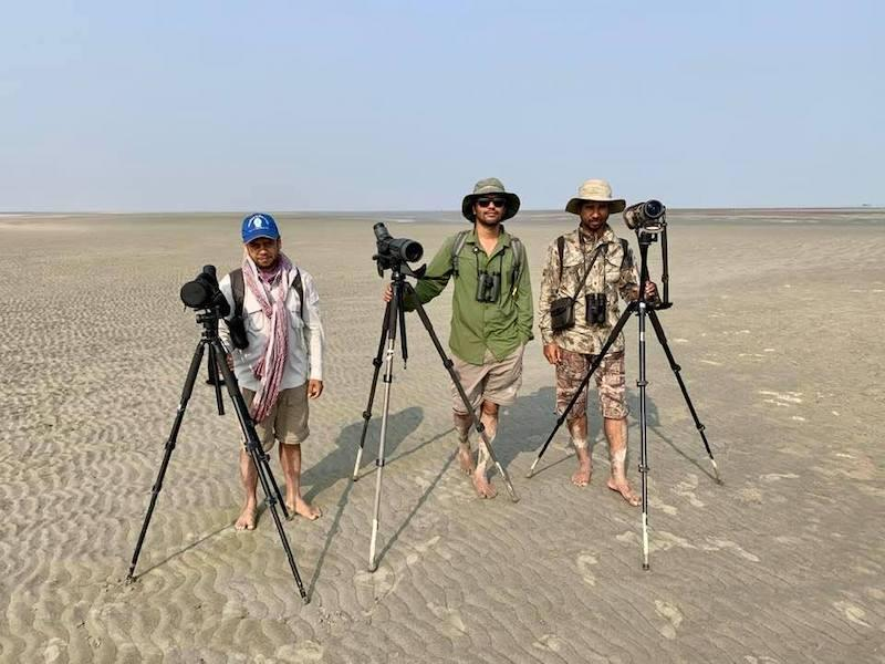 survey team in bangladesh