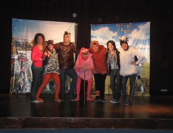 Theatre production. photo: Asociación Ambiente Sur