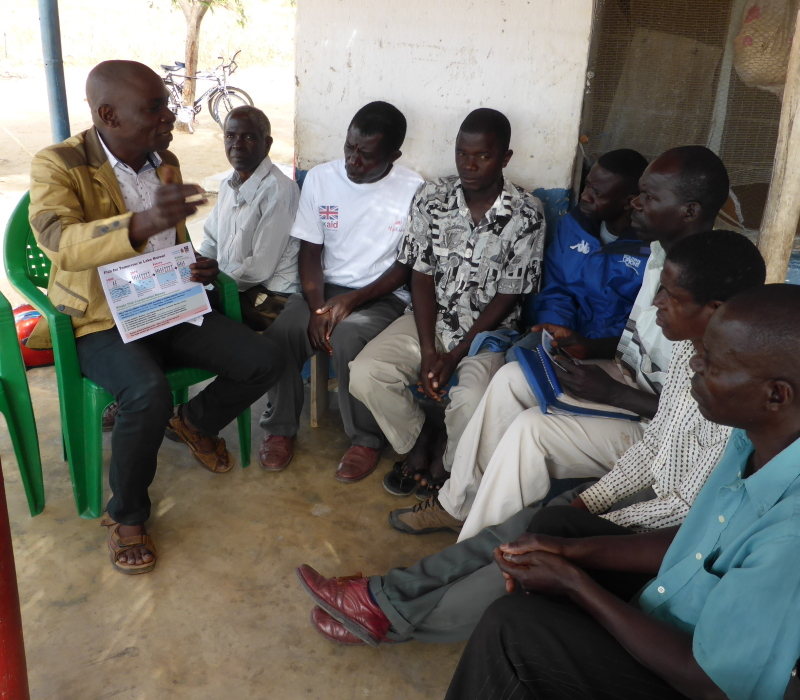Training a fish conservation committee
