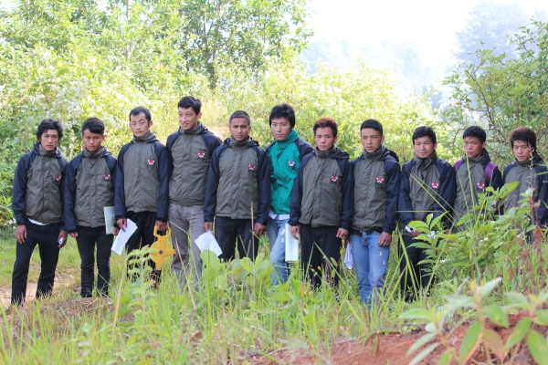 Forest Guardians during training
